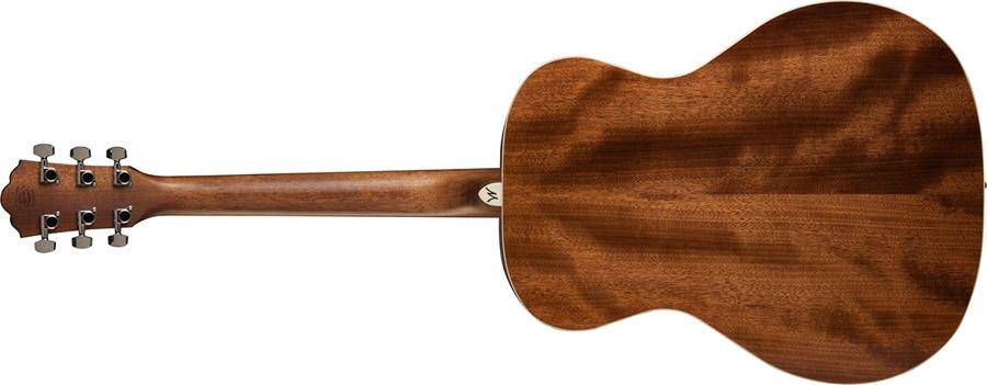 Washburn HG12S-O Heritage 10 Series 6 String Grand Auditorium Acoustic Guitar in Mahogany Product Image 3