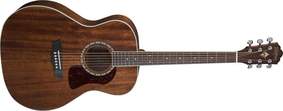 Washburn HG12S-O Heritage 10 Series 6 String Grand Auditorium Acoustic Guitar in Mahogany Product Image 2