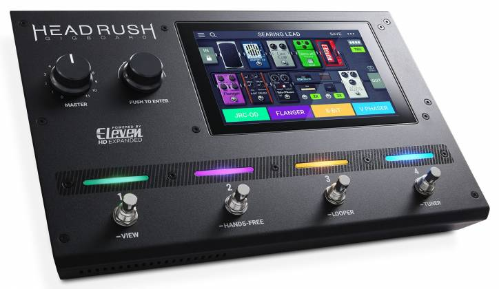 Headrush Gigboard Compact Road-Ready Guitar Multiple FX Processor Product Image 2