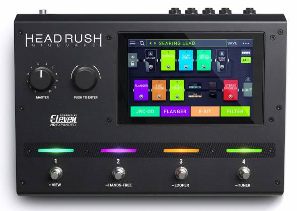 Headrush Gigboard Compact Road-Ready Guitar Multiple FX Processor Product Image 3