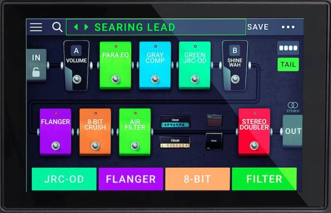 Headrush Gigboard Compact Road-Ready Guitar Multiple FX Processor Product Image 5
