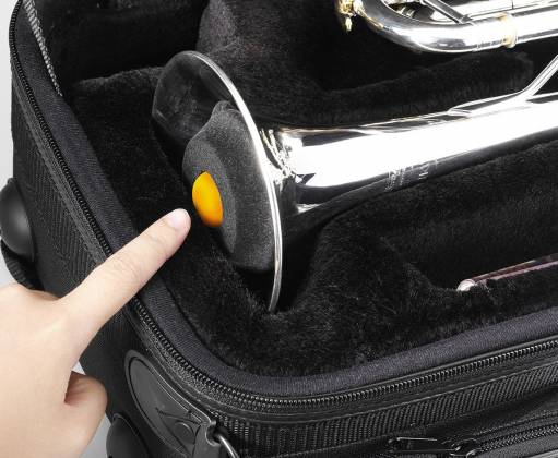 Hercules DS410B Travlite Trumpet Stand Product Image 5