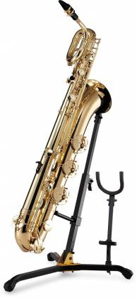 Hercules DS536B Baritone and Alto/Tenor Saxophone Stand Product Image 3