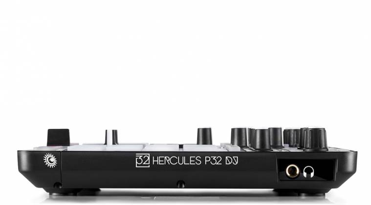 Hercules Audio P32DJ All-In-One DJ Controller with 2 Grids of 16 Effects Pads Product Image 4