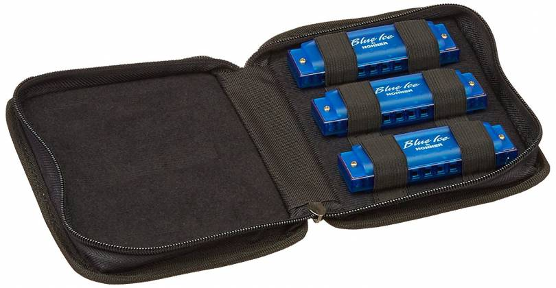 Hohner BIP Blue Ice Harmonica Set  Product Image 4
