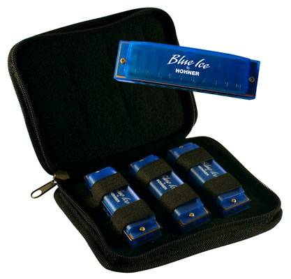 Hohner BIP Blue Ice Harmonica Set  Product Image 2