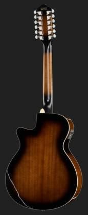 Ibanez AEG1812II-DVS AEG Series 12 String RH Acoustic Electric Guitar-Dark Violin Sunburst High Gloss  Product Image 3