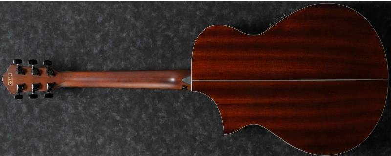 Ibanez AEWC 32 FM RSF 6 String RH Acoustic Electric Guitar-Red Sunset Fade aew-c-32-fm-rsf Product Image 5