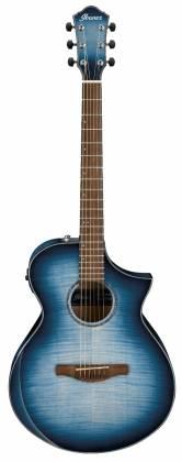 Ibanez AEWC400-IBB AEWC Series 6 String RH Acoustic Electric Guitar-Indigo Blue Burst High Gloss Product Image 13