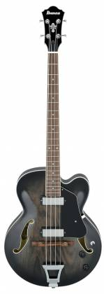 Ibanez AFB200-TKS Artcore 4 String RH Hollowbody Acoustic Bass Guitar-Transparent Black Sunburst  Product Image 8