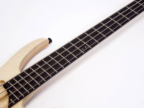 Ibanez AFR4FMP-NTF Premium Affirma 4 String RH Electric Bass with Case-Natural Flat (ETA pending LTD QTY) Product Image 7