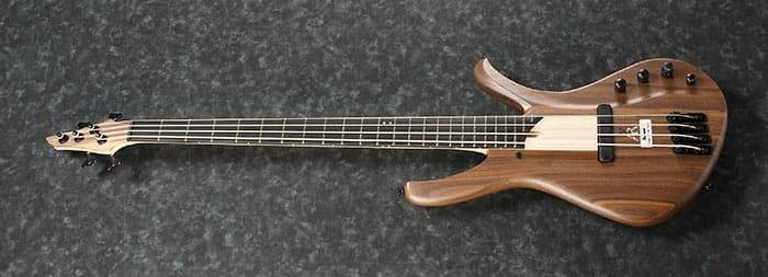 Ibanez AFR4WAP-NTF Premium Affirma 4 String RH Electric Bass with Case-Natural Flat  Product Image 4