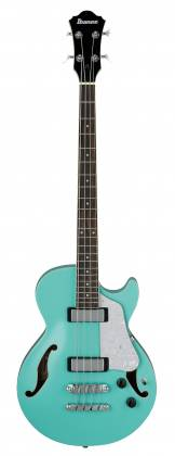 Ibanez AGB260-SFG Artcore Vibrante 4 String RH Semi-Hollowbody Acoustic Bass Guitar-Sea Foam Green Product Image 9