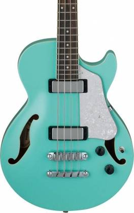Ibanez AGB260-SFG Artcore Vibrante 4 String RH Semi-Hollowbody Acoustic Bass Guitar-Sea Foam Green Product Image 2