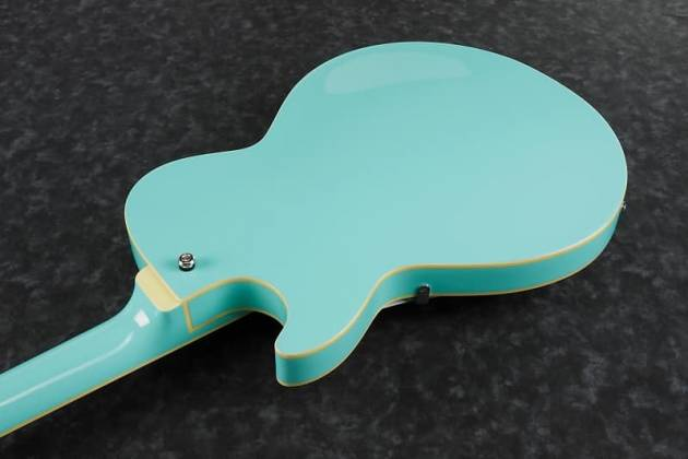 Ibanez AGB260-SFG Artcore Vibrante 4 String RH Semi-Hollowbody Acoustic Bass Guitar-Sea Foam Green Product Image 6