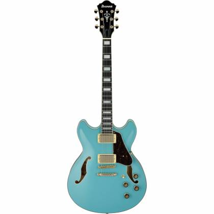 Ibanez AS73G-MTB-d Artcore Series Hollow-Body 6-String RH Electric Guitar-Mint Blue (discontinued clearance)  (Prior Year Model) Product Image 2