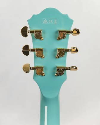 Ibanez AS73G-MTB-d Artcore Series Hollow-Body 6-String RH Electric Guitar-Mint Blue (discontinued clearance)  (Prior Year Model) Product Image 4