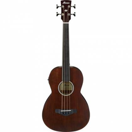 Ibanez AVNB1FE-BV Artwood Fretless 4-String RH Acoustic-Electric Bass-Brown Violin Product Image 7