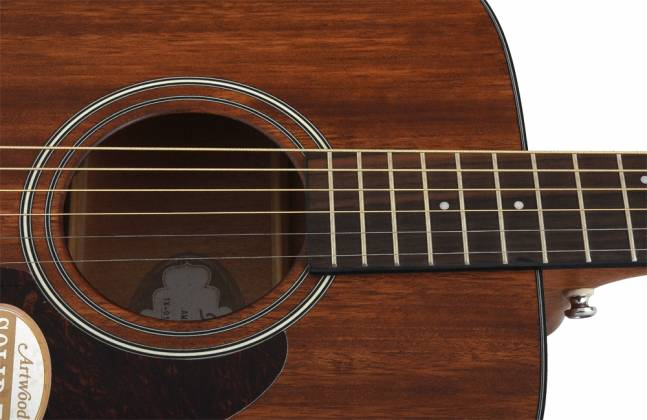 Ibanez AW54-OPN Artwood Series 6 String RH Acoustic Guitar-Open Pore Natural Product Image 6
