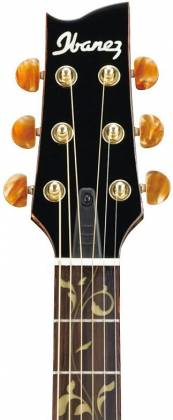 Ibanez EP10-BP Euphoria Series Steve Vai Signature 6 String RH Acoustic Electric Guitar with Case-Black Pearl High Gloss Product Image 5