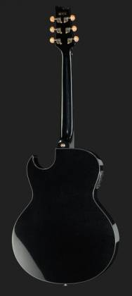 Ibanez EP5-BP Euphoria Series Steve Vai Signature 6 String RH Acoustic Electric Guitar-Black Pearl High Gloss Product Image 3