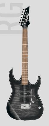 Ibanez GRX70QA-TKS Gio Series 6 String RH Electric Guitar-Transparent Black Sunburst Product Image 2