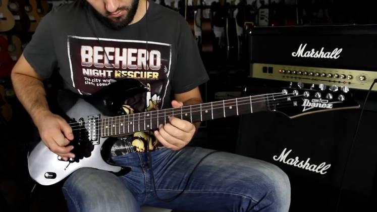 Ibanez GRX70QA-TKS Gio Series 6 String RH Electric Guitar-Transparent Black Sunburst Product Image 6