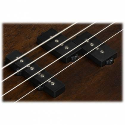 Ibanez GSR200B-WNF GIO Series 4 String RH Electric Bass-Walnut Flat Product Image 3