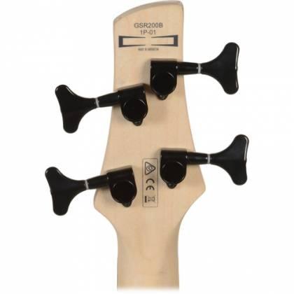 Ibanez GSR200B-WNF GIO Series 4 String RH Electric Bass-Walnut Flat Product Image 5