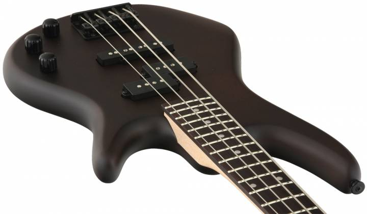 Ibanez GSRM20B-WNF GIO Mikro 4 String RH Electric Bass-Walnut Flat Product Image 5