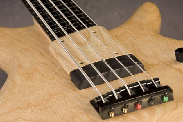 Ibanez GWB1005 NTF Gary Willis Signature 5 String RH Fretless Electric Bass with Case-Natural Flat Product Image 10
