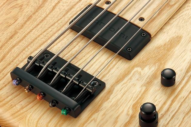 Ibanez GWB1005 NTF Gary Willis Signature 5 String RH Fretless Electric Bass with Case-Natural Flat Product Image 11