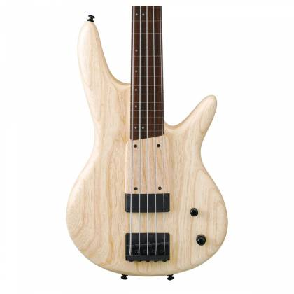 Ibanez GWB1005 NTF Gary Willis Signature 5 String RH Fretless Electric Bass with Case-Natural Flat Product Image 4