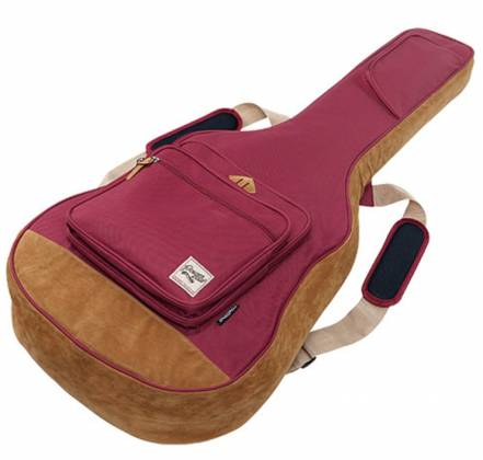 Ibanez IAB541WR Powerpad Designer Collection Gig Bag for Acoustic Guitar-Wine Red Product Image 3