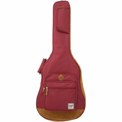 Ibanez IAB541WR Powerpad Designer Collection Gig Bag for Acoustic Guitar-Wine Red Product Image 2