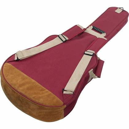 Ibanez IAB541WR Powerpad Designer Collection Gig Bag for Acoustic Guitar-Wine Red Product Image 4