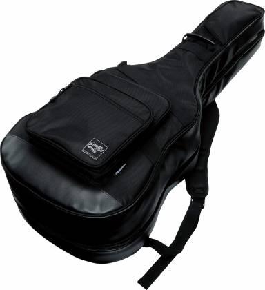 Ibanez IGAB2540BK Black Powerpad Double Gig Bag for Two Guitars-Fits One Acoustic and One Electric Guitar Product Image 2
