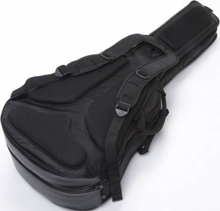 Ibanez IGAB2540BK Black Powerpad Double Gig Bag for Two Guitars-Fits One Acoustic and One Electric Guitar Product Image 3