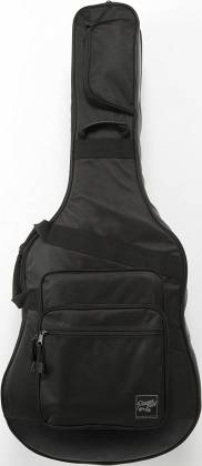 Ibanez IGAB2540BK Black Powerpad Double Gig Bag for Two Guitars-Fits One Acoustic and One Electric Guitar Product Image 4