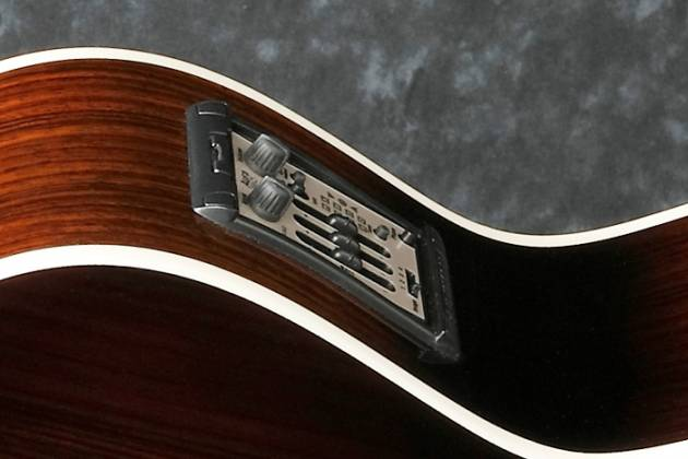 Ibanez JSA20-VB Satriani Signature 6 String RH Acoustic Electric Guitar with Case-Vintage Burst High Gloss Product Image 9