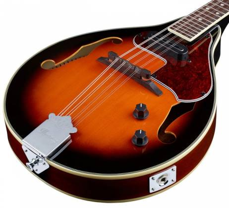 Ibanez M510E-BS A-Style Electric Acoustic Mandolin-Brown Sunburst High Gloss Product Image 7