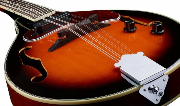 Ibanez M510E-BS A-Style Electric Acoustic Mandolin-Brown Sunburst High Gloss Product Image 9
