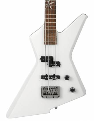 Ibanez MDB4-WH Mike D-Antonio Signature 4 String RH Electric Bass-White Product Image 3