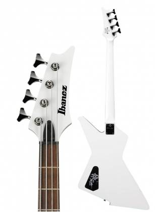 Ibanez MDB4-WH Mike D-Antonio Signature 4 String RH Electric Bass-White Product Image 5
