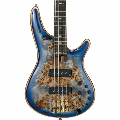 Ibanez SR2600-CBB Soundgear Premium 4-String RH Electric Bass-Cerulean Blue Burst Product Image 2
