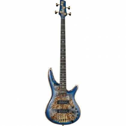 Ibanez SR2600-CBB Soundgear Premium 4-String RH Electric Bass-Cerulean Blue Burst Product Image 3