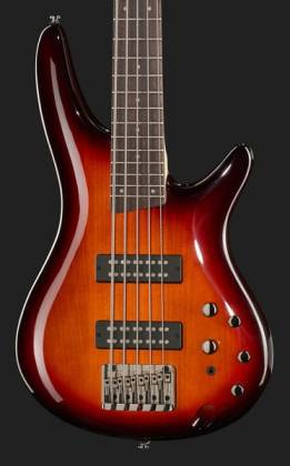 Ibanez SR375E-AWB-d Soundgear 5-String RH Electric Bass-Antique Whiskey Burst (discontinued clearance)  (Prior Year Model) Product Image 4