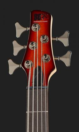Ibanez SR375E-AWB-d Soundgear 5-String RH Electric Bass-Antique Whiskey Burst (discontinued clearance)  (Prior Year Model) Product Image 6