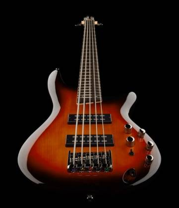 Ibanez SR375E-AWB-d Soundgear 5-String RH Electric Bass-Antique Whiskey Burst (discontinued clearance)  (Prior Year Model) Product Image 8