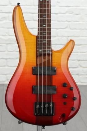 Ibanez SR870-ALG Soundgear Series 4-String RH Electric Bass-Autumn Leaf Gradation Product Image 3